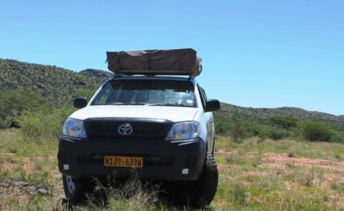 Toyota Hilux Double Cab 4x4 (Group G-1 Camping for 2 Pax - Budget Version)