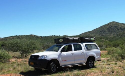 Toyota Hilux Double Cab 4x4 (Group G-2 Camping for 4 Pax - Budget Version)