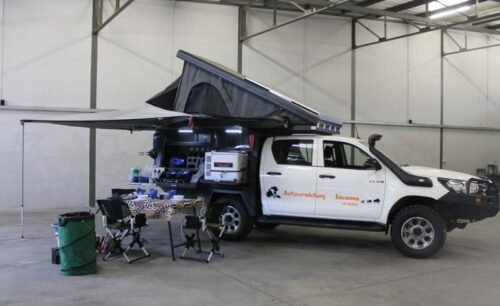 Toyota Hilux GD6 (Group Family Camper)