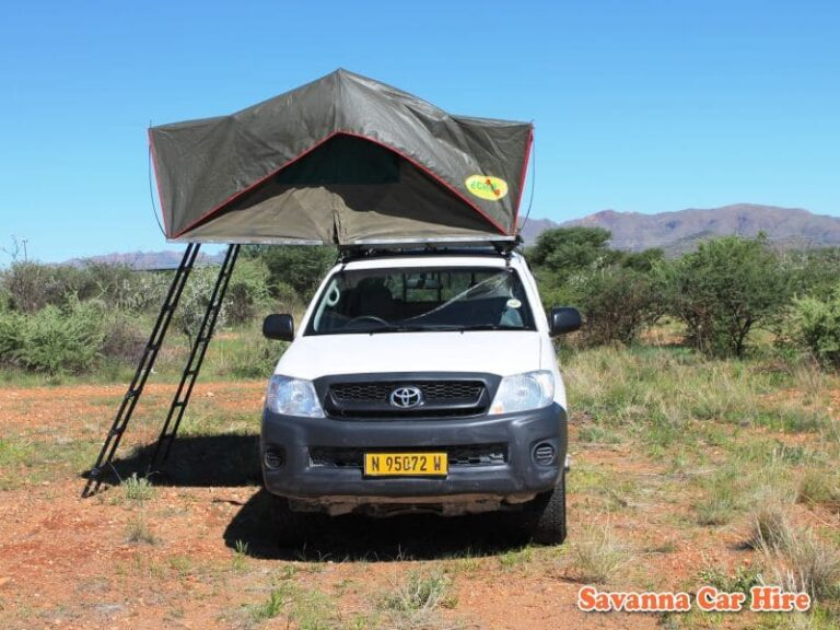 Toyota Hilux (Group GD-2 Camping for 3 - 5 Pax)