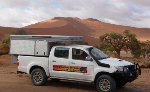 Toyota Hilux (Group GLDSC - BushCamper - Camping 2 Pax)