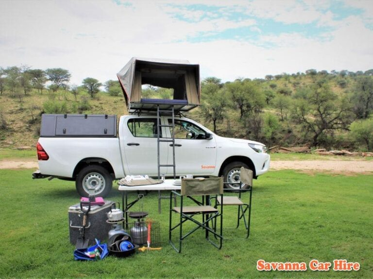 Toyota Hilux (Group GSX-1 Camping for 2 Pax)