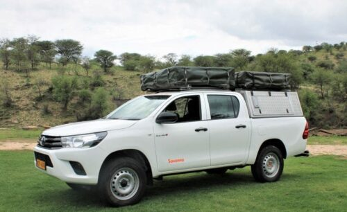 Toyota Hilux (Group GSX-2 Camping for 3 - 5 pax)