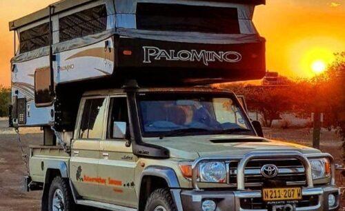 Toyota Landcruiser 4.5 V8 Palomino (Group Palomino Luxury Camper)